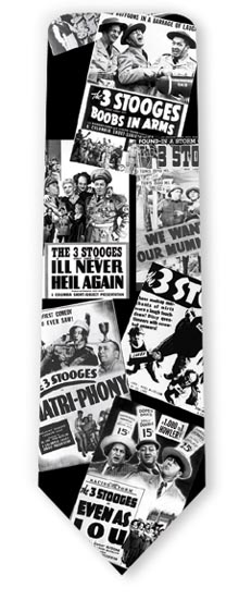 3 STOOGES MOVIE POSTERS POLY 4544